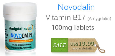 100mg B17 Vitamin Tablets