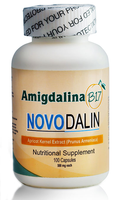 Amygdalin B17 500mg capsules from Novodalin