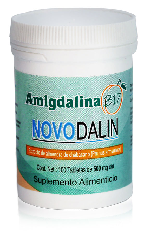 Amygdalin B17 100mg Tablets from Novodalin