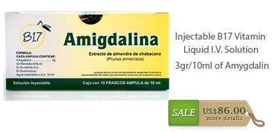 Amygdalin Injectable Solution